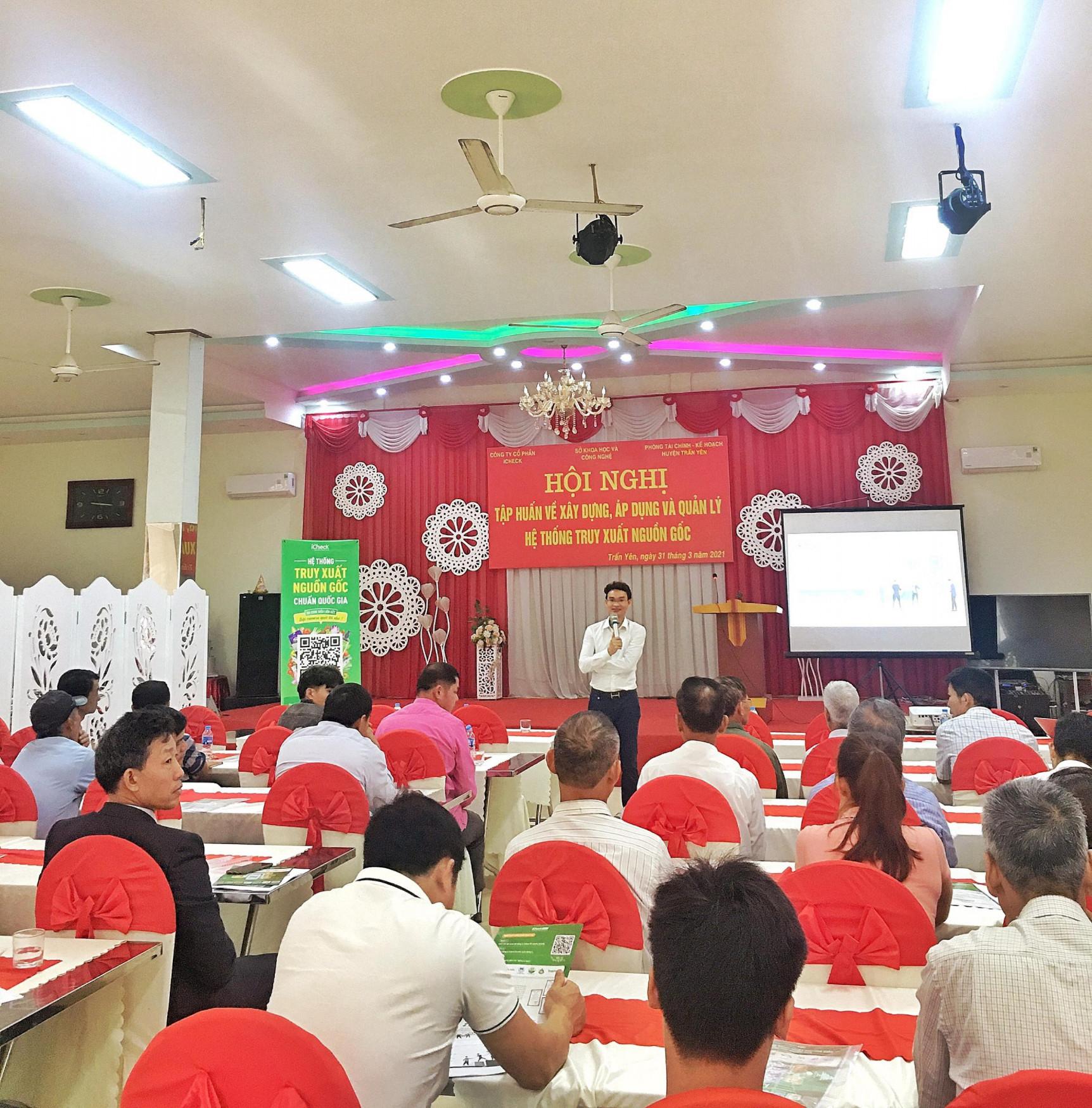 iCheck hỗ trợ nông dân tỉnh Yên Bái tiếp cận toàn diện công nghệ truy xuất nguồn gốc